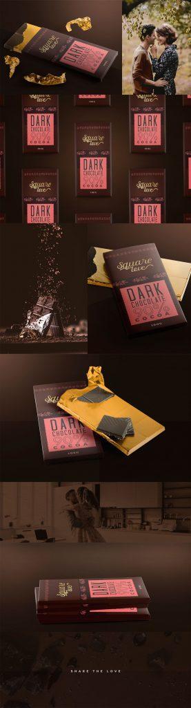 Branding Case Study - Square Love Packaging Design